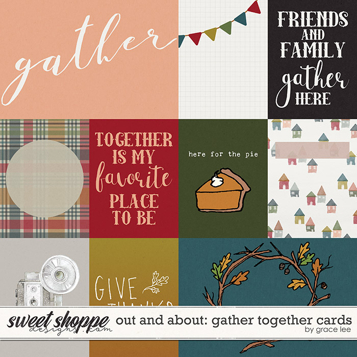Out and About: Gather Together Cards by Grace Lee