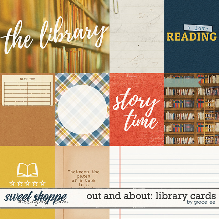 Out and About: Library Cards by Grace Lee