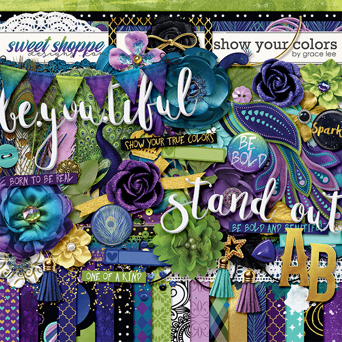 Show Your Colors by Grace Lee