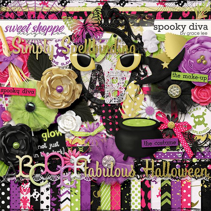 Spooky Diva by Grace Lee