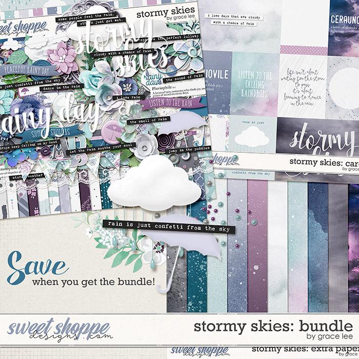 Stormy Skies: Bundle by Grace Lee