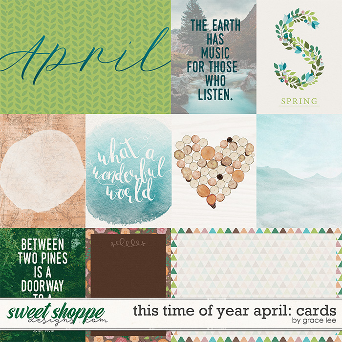 This Time of Year April: Cards by Grace Lee