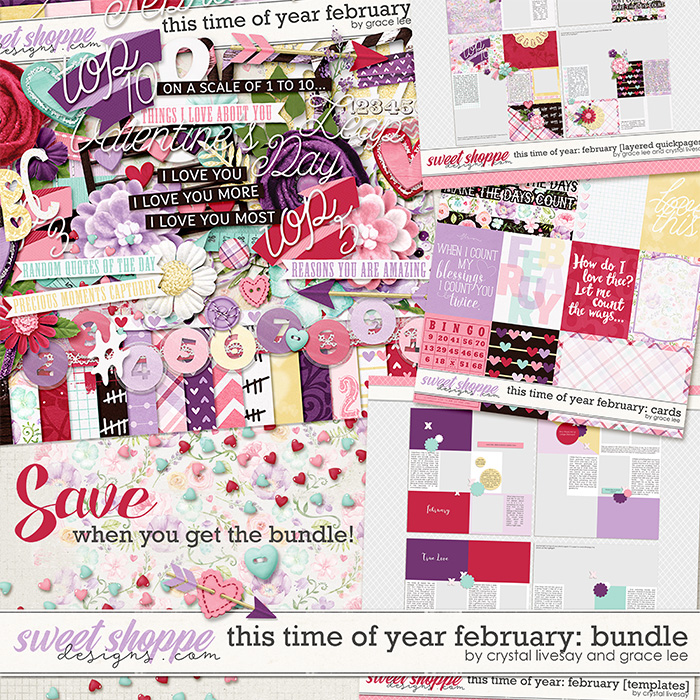 This Time of Year February Bundle by Grace Lee and Crystal Livesay