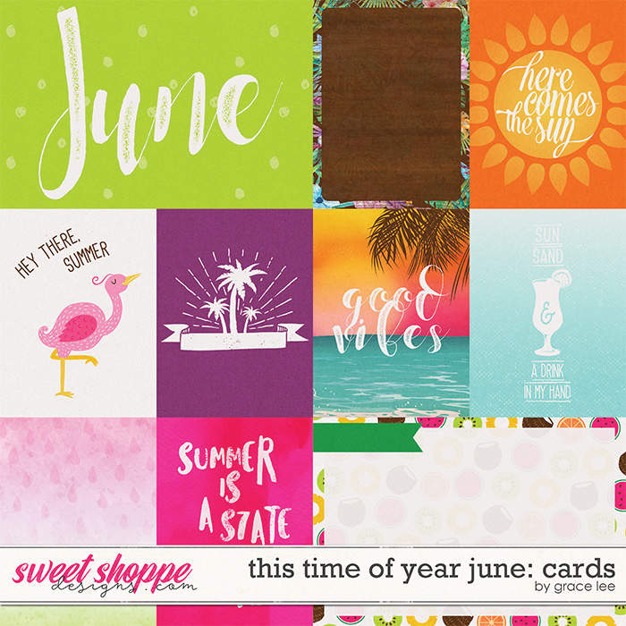 This Time of Year June: Cards by Grace Lee