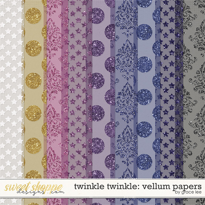 Twinkle Twinkle: Vellum Papers by Grace Lee