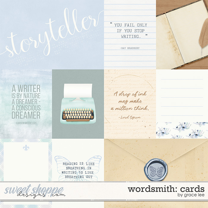 Wordsmith: Cards by Grace Lee