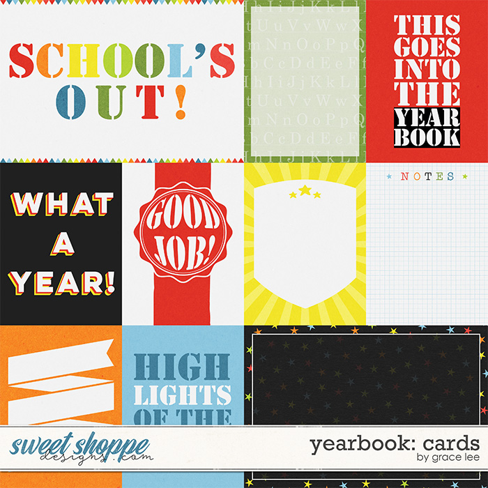 Yearbook: Cards by Grace Lee
