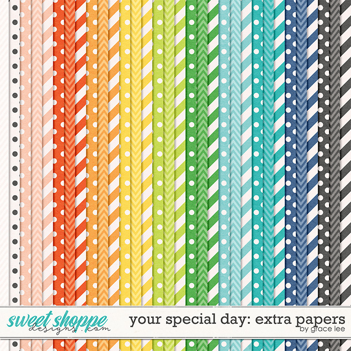 Your Special Day: Extra Papers by Grace Lee