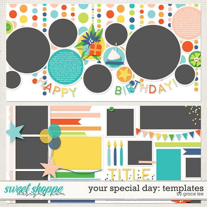 Your Special Day: Templates by Grace Lee