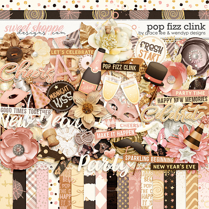 Pop Fizz Clink by Grace Lee and WendyP Designs