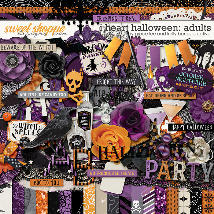 I Heart Halloween: Adults by Grace Lee and Kelly Bangs Creative