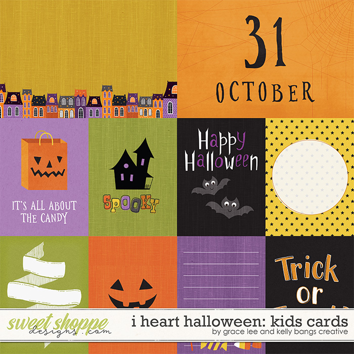 I Heart Halloween: Kids Cards by Grace Lee and Kelly Bang Creative