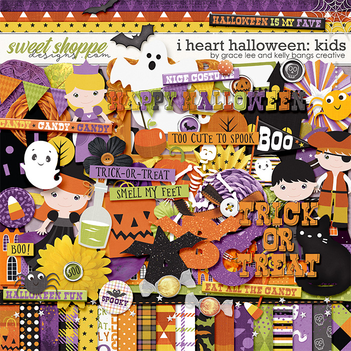 I Heart Halloween: Kids by Grace Lee and Kelly Bang Creative