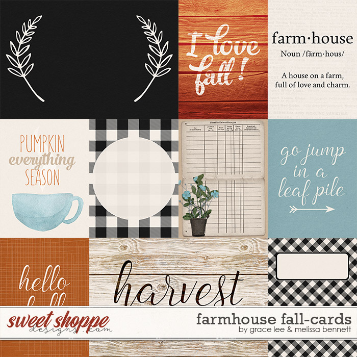 Farmhouse Fall: Cards by Grace Lee and Melissa Bennett