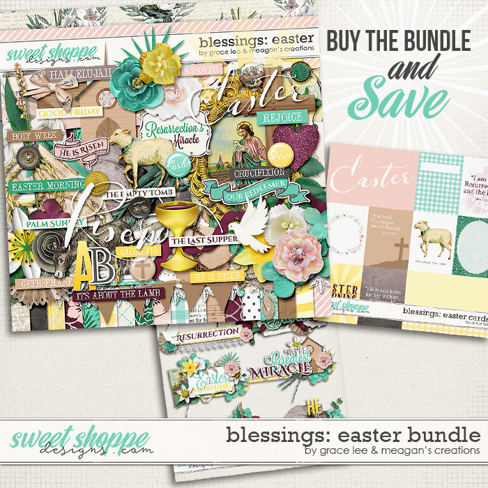 Blessings: Easter Bundle by Grace Lee and Meagan's Creations