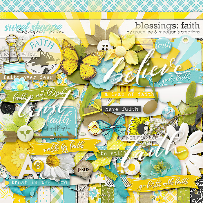 Blessings: Faith by Grace Lee and Meagan's Creations
