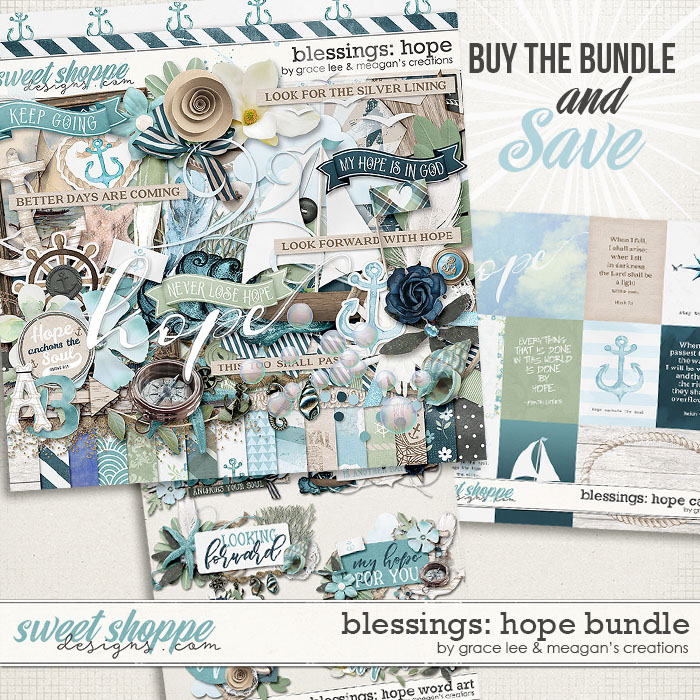 Blessings: Hope Bundle by Grace Lee and Meagan's Creations