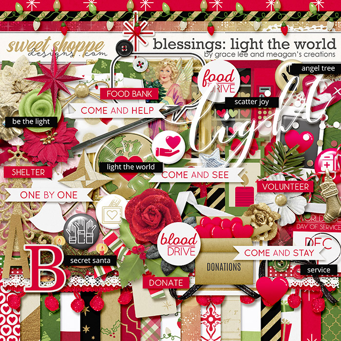 Blessings: Light the World by Grace Lee and Meagan's Creations