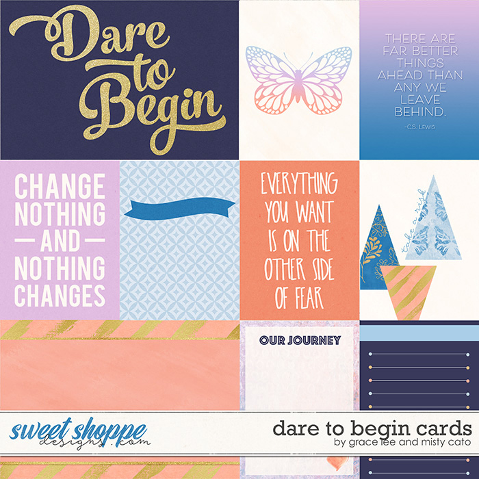 Dare to Begin Cards by Grace Lee and Misty Cato