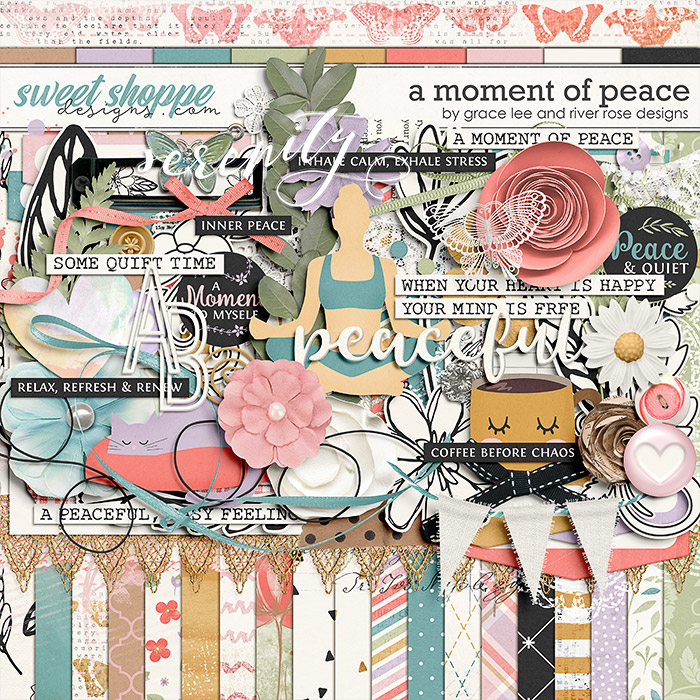 A Moment of Peace by Grace Lee and River Rose Designs