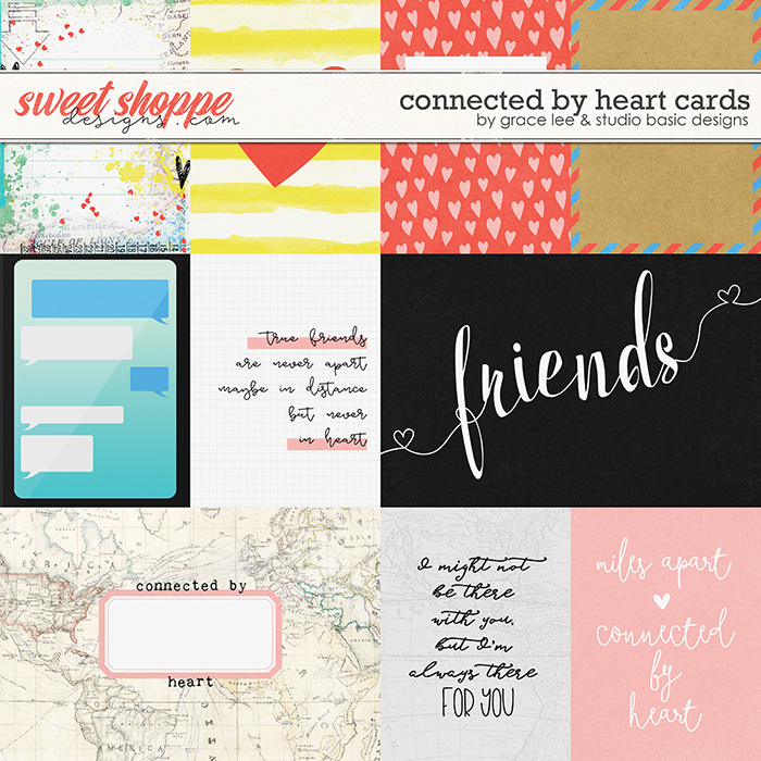Connected by Heart: Cards by Grace Lee and Studio Basic Designs