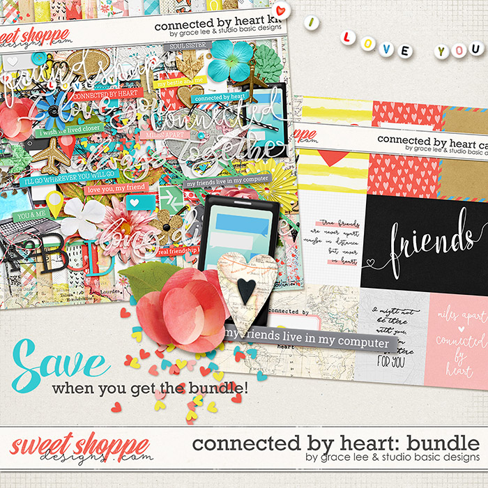 Connected by Heart: Bundle by Grace Lee and Studio Basic Designs