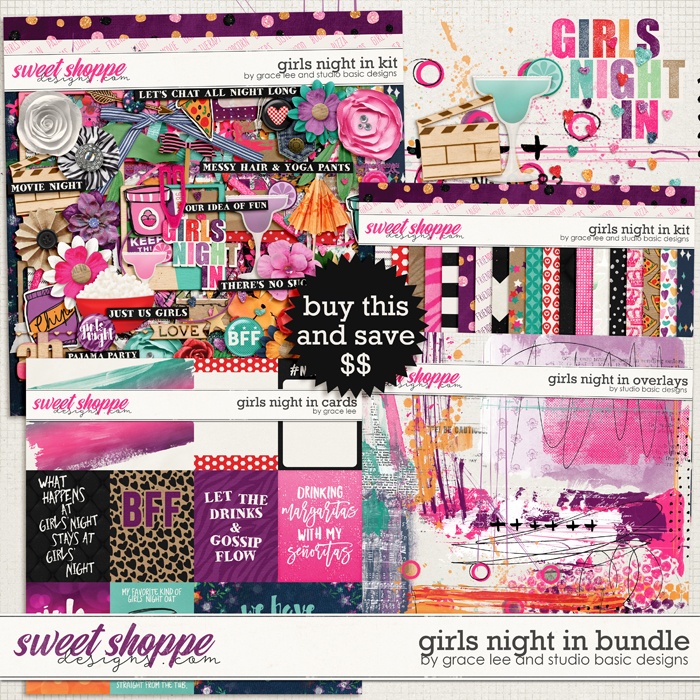 Girls Night In: Bundle by Grace Lee and Studio Basic Designs