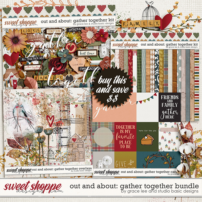 Out and About: Gather Together Bundle by Grace Lee and Studio Basic Designs