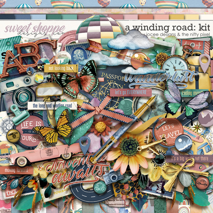 A Winding Road by JoCee Designs and The Nifty Pixel