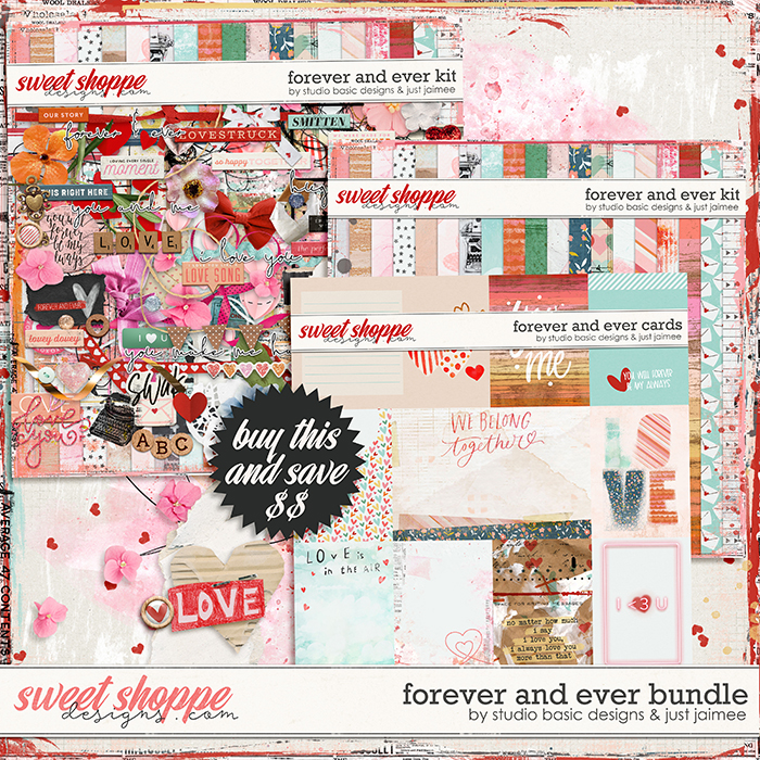 Forever and Ever Bundle by Studio Basic and Just Jaimee