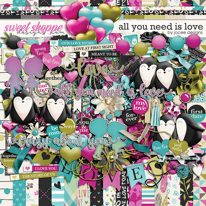 All You Need is Love by JoCee Designs