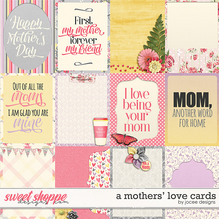 A Mother's Love Cards by JoCee Designs