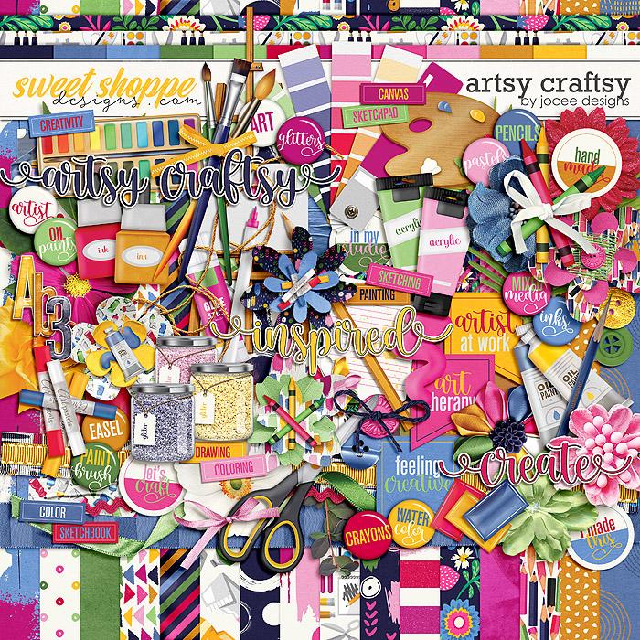 Artsy Craftsy by JoCee Designs