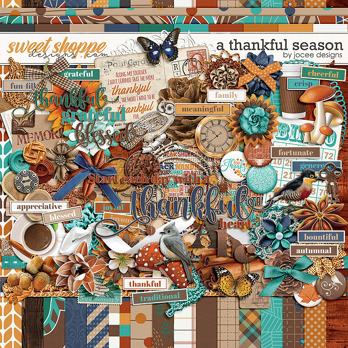A Thankful Season Kit by JoCee Designs