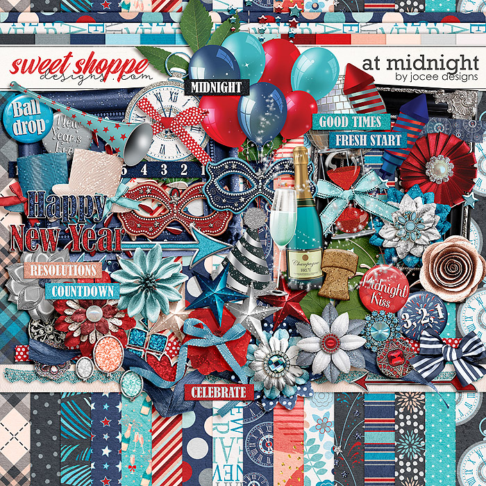At Midnight by JoCee Designs