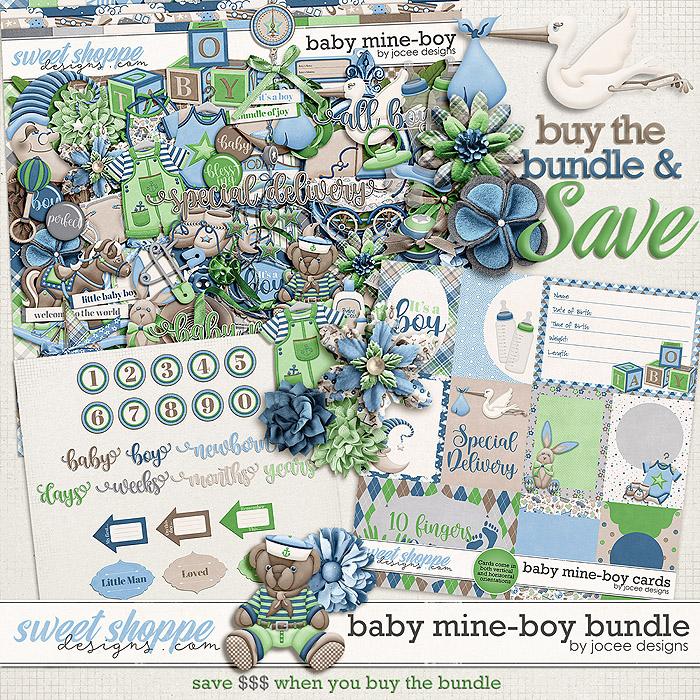 Baby Mine-Boy Bundle by JoCee Designs