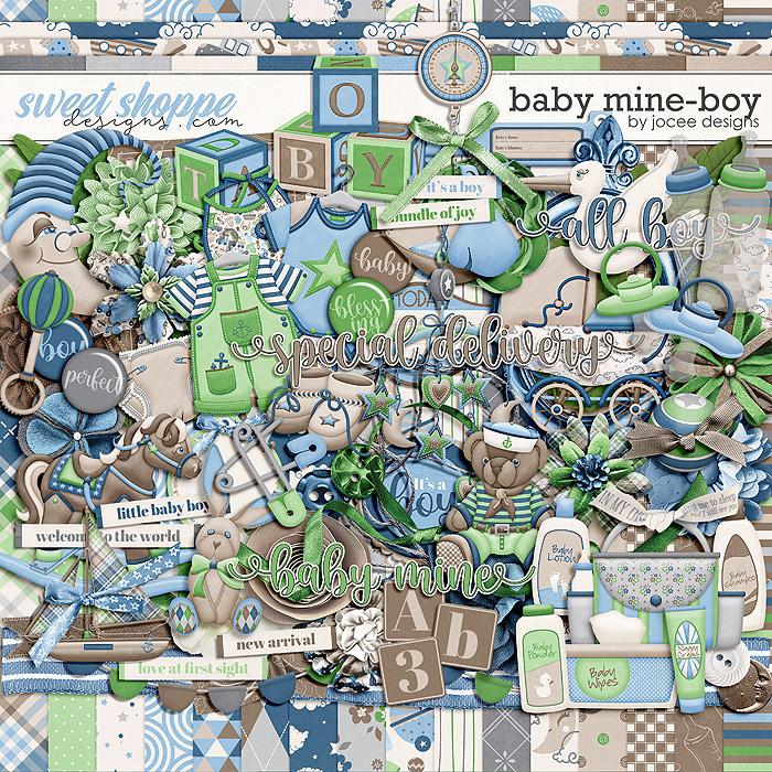 Baby Mine-Boy by JoCee Designs