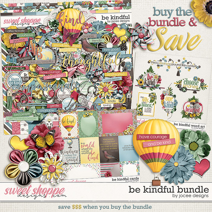 Be Kindful Bundle by JoCee Designs