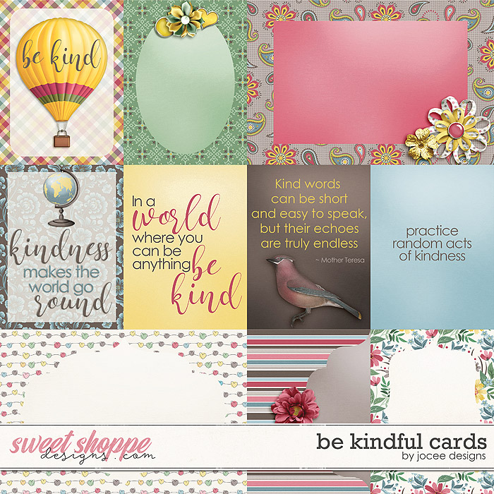 Be Kindful Cards by JoCee Designs