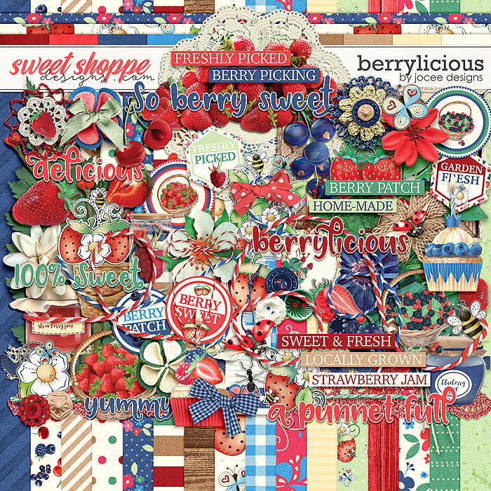 Berrylicious by JoCee Designs