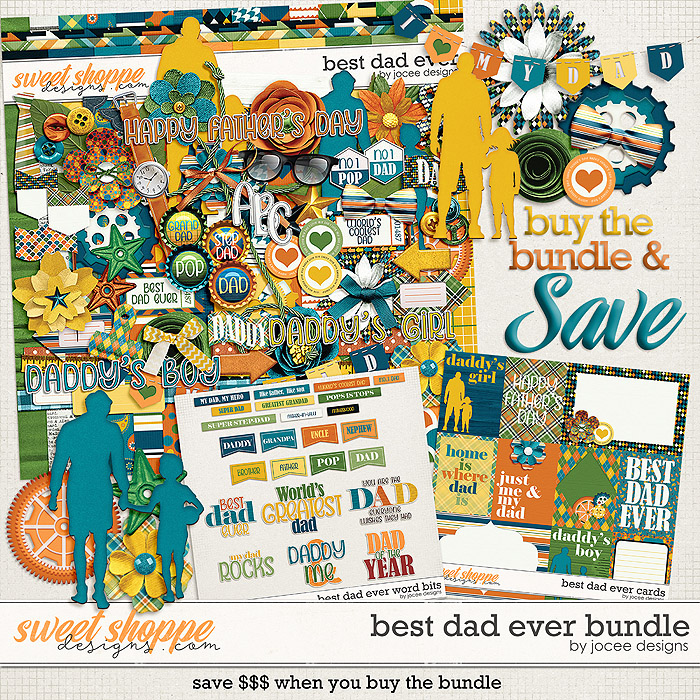 Best Dad Ever Bundle by JoCee Designs