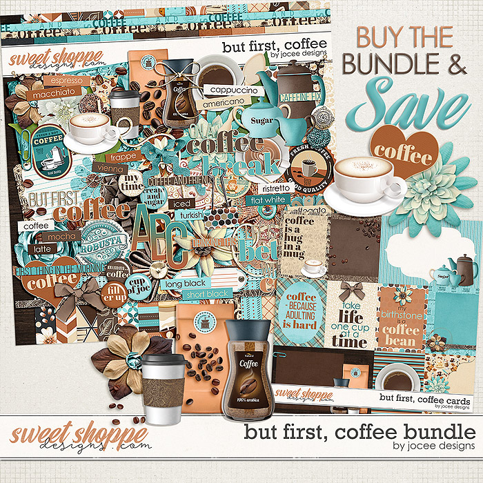 But first, Coffee Bundle by JoCee Designs
