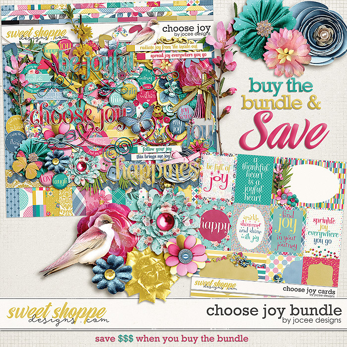 Choose Joy Bundle by JoCee Designs