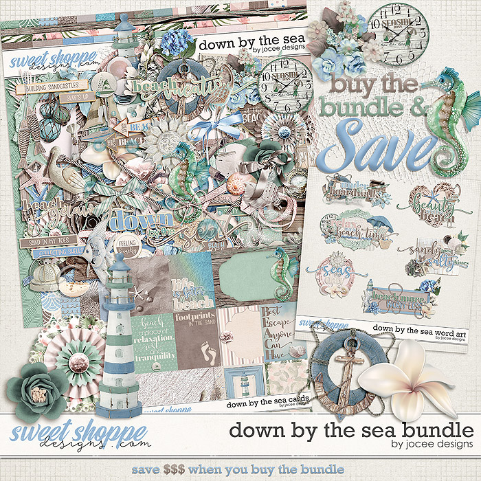 Down by the Sea Bundle by JoCee Designs