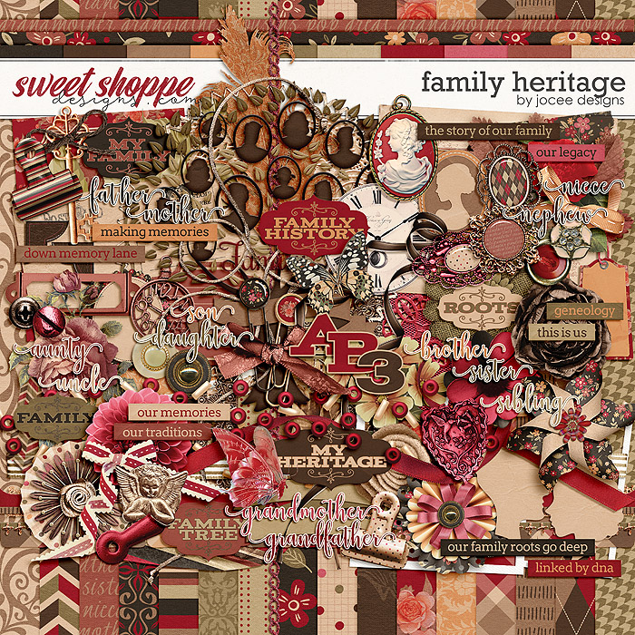 Family Heritage by JoCee Designs