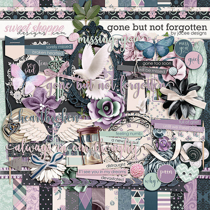 Gone But Not Forgotten by JoCee Designs