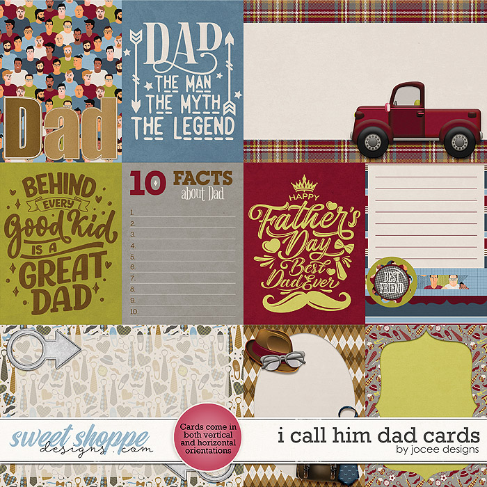 I call him Dad Cards by JoCee Designs