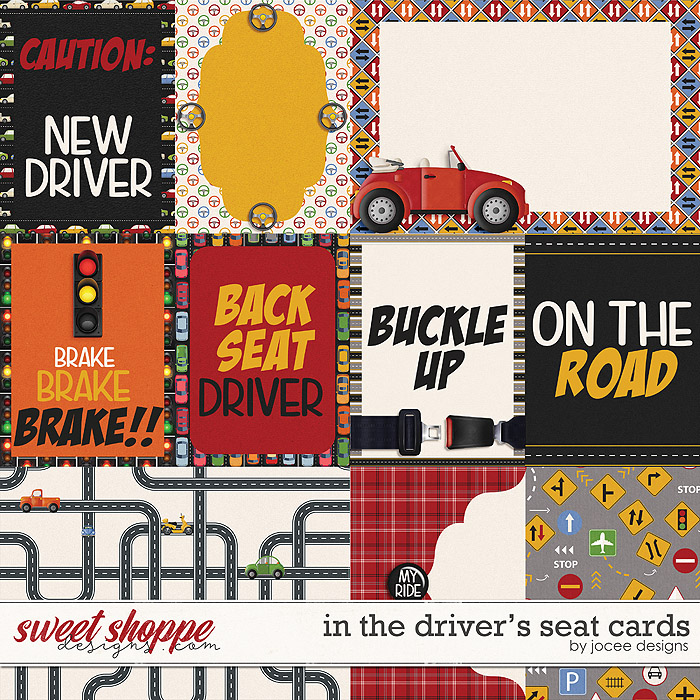 In the Drivers Seat Cards by JoCee Designs