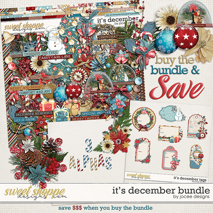Its December Bundle by JoCee Designs