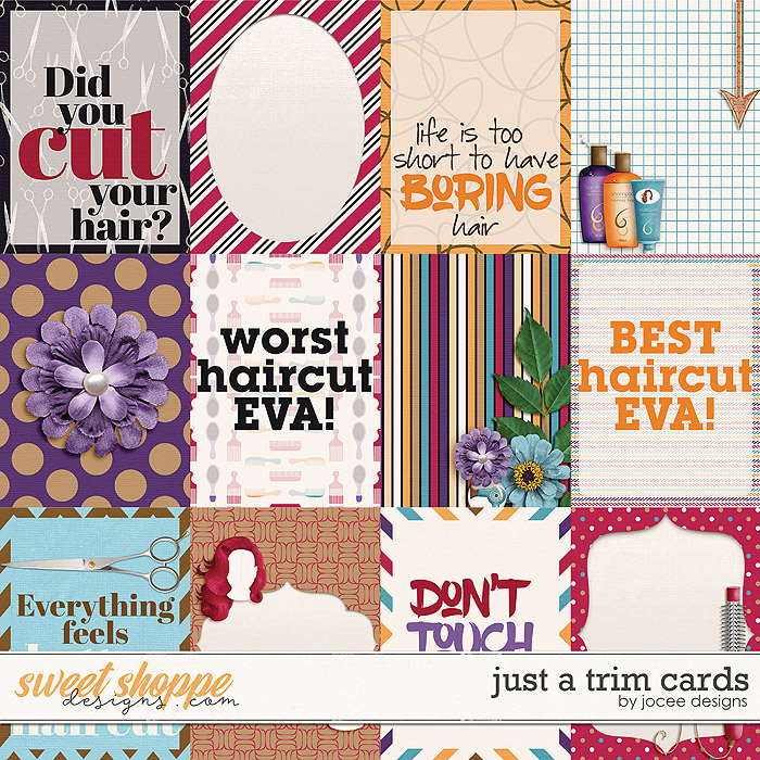 Just A Trim Cards by JoCee Designs